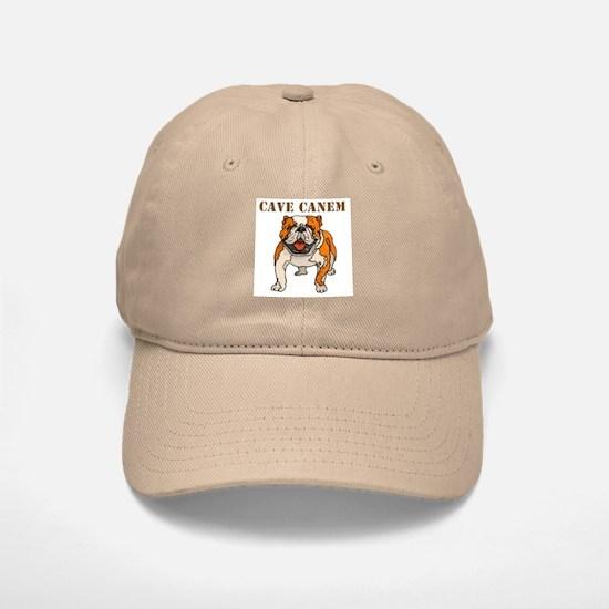 Cave Canem (Bulldog) Baseball Baseball Cap