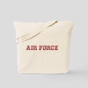 Air Force Zebra Red Tote Bag