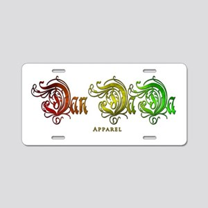 Dan DaDa Apparel Aluminum License Plate
