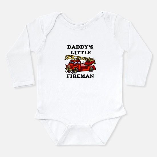 Daddy's Little Fireman - Body Suit