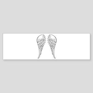 Angel wings Sticker (Bumper)