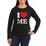 I love ME Women's Long Sleeve Dark T-Shirt