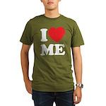 I love ME Organic Men's T-Shirt (dark)