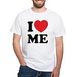 I love ME White T-Shirt