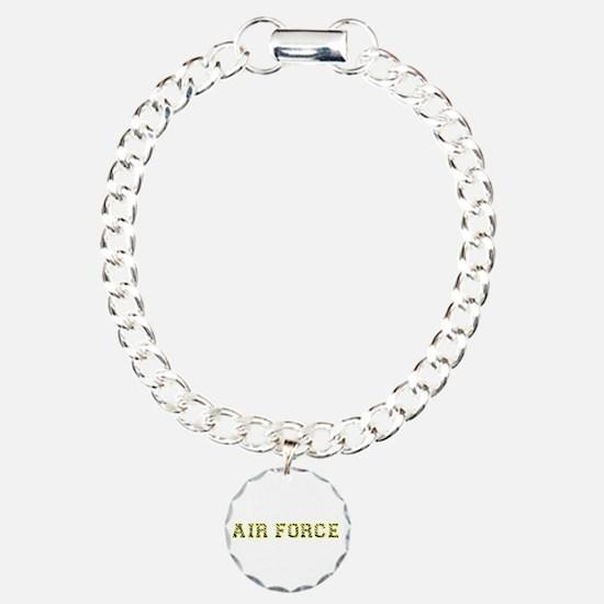 Air Force Zebra Yellow Bracelet