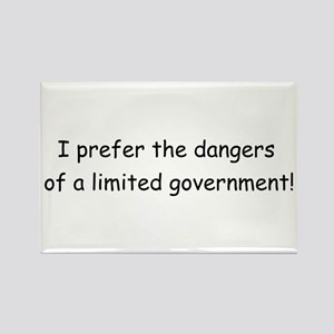 Limited Government Rectangle Magnet
