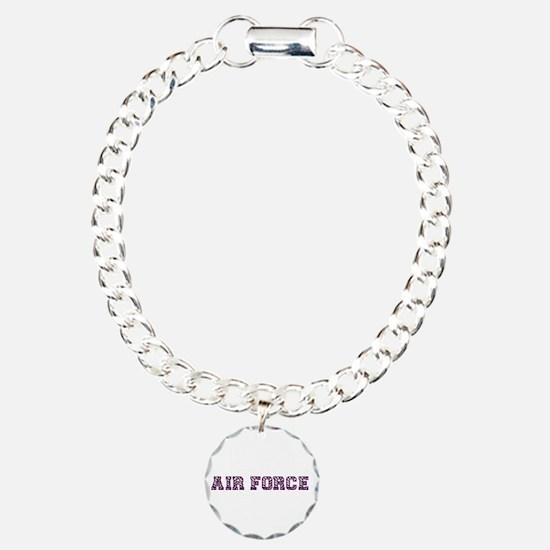 Air Force Zebra Dark Purple Bracelet
