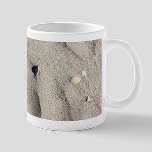 Ocracoke Island shell. Mugs