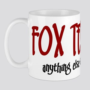 Fox Terrier JUST A DOG Mug