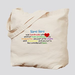Handmade With Love Boys Customised Tote Bag