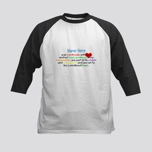 Handmade With Love Boys Customised Kids Baseball J