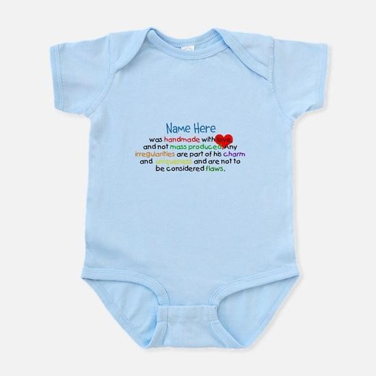 Handmade With Love Boys Customised Infant Bodysuit