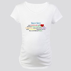 Handmade With Love Boys Customised Maternity T-Shi