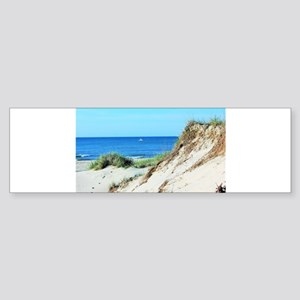 Orcracoke Island Beach Bumper Sticker