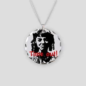 Time out! Necklace Circle Charm