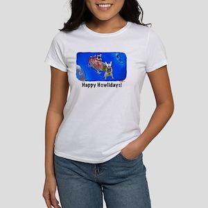 Howliday Pugs Women's T-Shirt