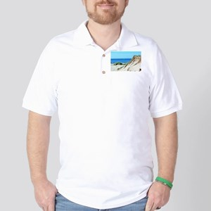 Orcracoke Island Beach Golf Shirt