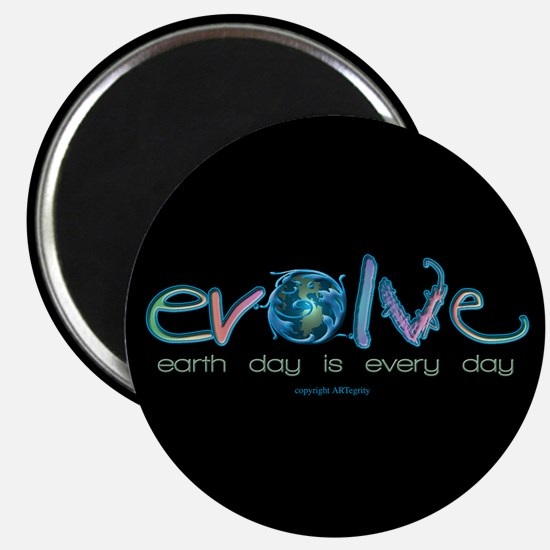Evolve Every Day Magnet