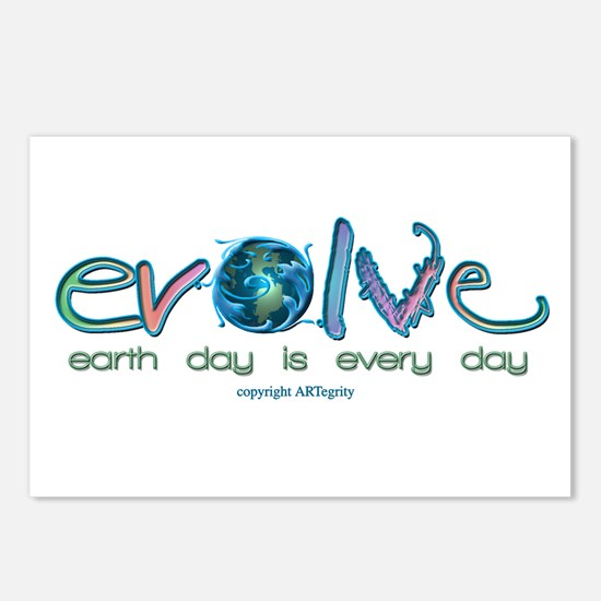 Evolve Every Day Postcards (Package of 8)