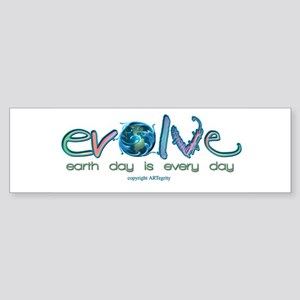Evolve Every Day Bumper Sticker