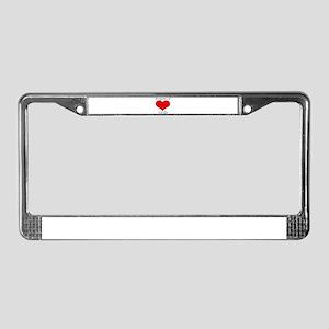 P.O.G License Plate Frame