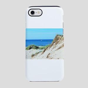 Orcracoke Island Beach iPhone 7 Tough Case