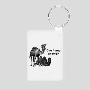 Funny Camels Aluminum Photo Keychain