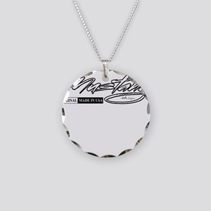 mustang Necklace Circle Charm