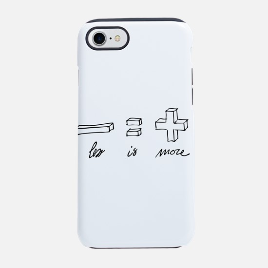 Less is more iPhone 7 Tough Case