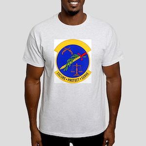 2853d Security Police Ash Grey T-Shirt