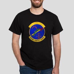 2853d Security Police Black T-Shirt
