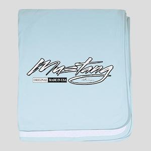 MustangUSA2 baby blanket