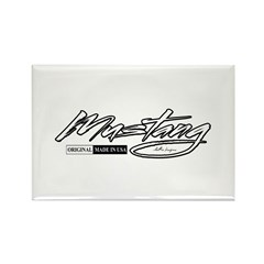 MustangUSA2 Rectangle Magnet (100 pack)