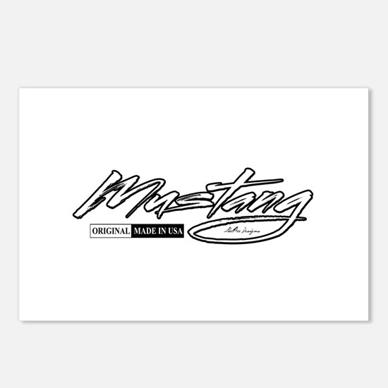 MustangUSA2 Postcards (Package of 8)