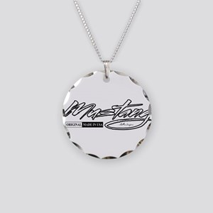 MustangUSA2 Necklace Circle Charm