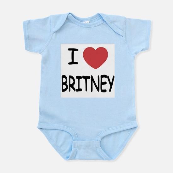 I heart Britney Infant Bodysuit
