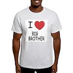 I heart my big brother Light T-Shirt
