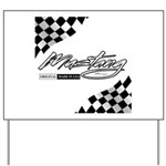 MustangFlags Yard Sign