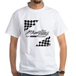 MustangFlags White T-Shirt