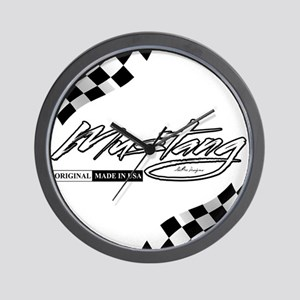 MustangFlags Wall Clock