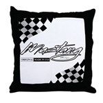 MustangFlags Throw Pillow