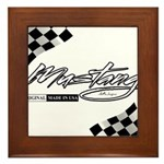 MustangFlags Framed Tile