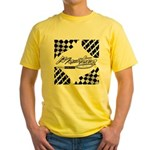 Mustang Tire Yellow T-Shirt