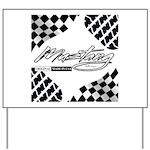 Mustang Tire Yard Sign