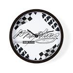 Mustang Tire Wall Clock