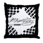 Mustang Tire Throw Pillow