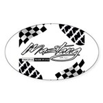 Mustang Tire Sticker (Oval)