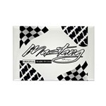 Mustang Tire Rectangle Magnet