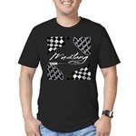 Mustang Tire Men's Fitted T-Shirt (dark)