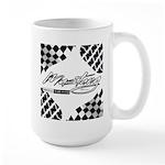 Mustang Tire Large Mug